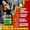 (2 Pack) Complete Keto Pills - Advanced Weight Management, Energy, and Appetite Support - Keto Fast BHB Exogenous Ketones Supplement for Improved Focus and Stamina - 120 Keto Diet Pills Total #1