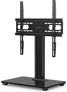 Perlegear Soporte para televisión de 26 – 55 Pulgadas, televisor o Monitor OLED, LCD, Plano y Curvo de hasta 40 kg, máx. VESA 400 x 400 mm