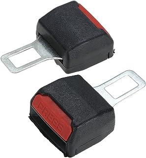 2pcs Car Safety Adjustable Seat Belt Clip Extender Universal Car Interior Parts