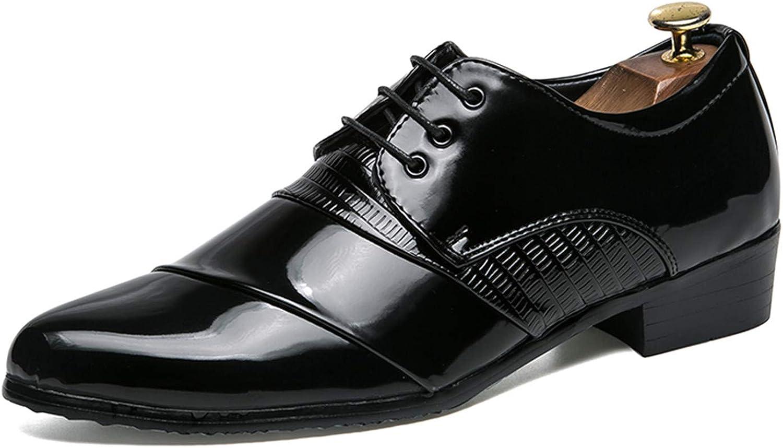Sonjer Sonjer Sonjer skor män Bär Resistenta Klädskor herr Springaa  Autumn ny Formal läder skor Lace -Up vit guld svart  butikshantering