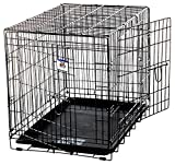Pet Lodge WCGNT giant wire double door dog crate holds up to 130lbs