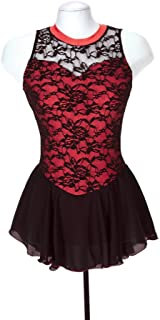 Jerry's Ice Skating Dress - 275 Overlace Dress - Black (Red, Size AL)