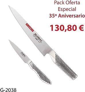 Global Pack 2 Cuchillos (G-20, GS-38) 35 Aniversario, G-2038