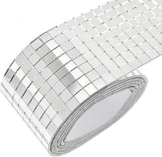 ADHG Miroirs Carreaux de mosaïque Autocollant Autocollant Mini Verre carré Accessoire de Bricolage décoratif 1600 pièces (...