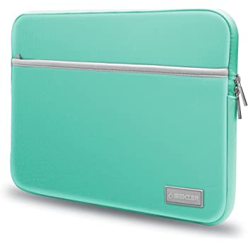 "IBENZER Basic 13.3"" Neoprene Protective Laptop Case Sleeve Bag with Accessory Pocket for 13-13.3 Inch Laptop, MacBook Pro 13, MacBook Air 13, Turquoise, BG13TBL"