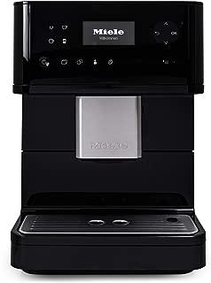 Miele CM6350 OneTouch Super-Automatic Countertop Coffee & Espresso Machine (Obsidian Black)