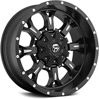 Fuel D517 Krank Сustom Wheel - Black with Milled Accents 20