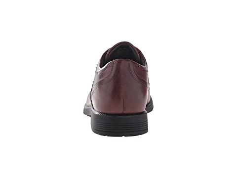 Cuir D'affaires Marron D'aile Leathernew Dressports Noir Bout Rockport En 41wYtqz