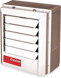 Dayton 5kW Electric Unit Heater, 1 or 3-Phase, 208V, 2YU65