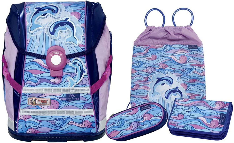 McNeill Schoolbag Set bluee bluee Pink