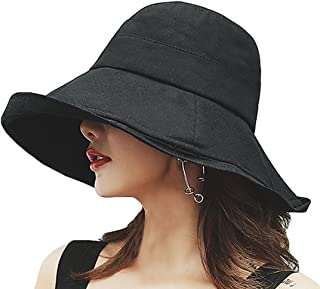 T WILKER UVカット 帽子 レディース 紫外線対策 ワイヤーを加える 熱中症予防 取り外すあご紐 サイズ調節可 つば広 おしゃれ 可愛い ハット 旅行用 日よけ 夏季 女優帽 小顔効果抜群…
