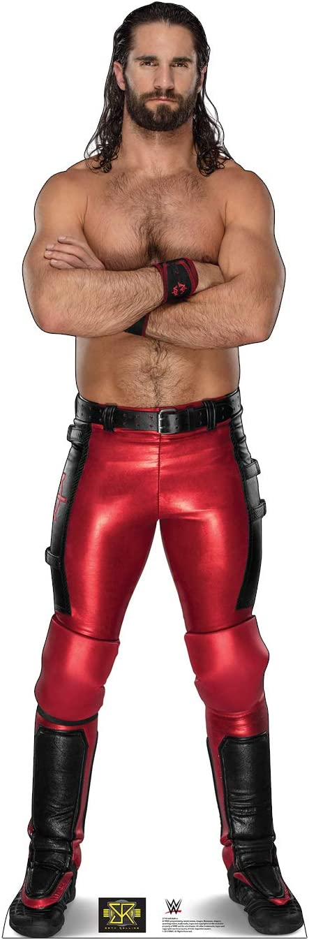 Cardboard People service Seth Rollins Max 41% OFF Standup Cutout Size Life
