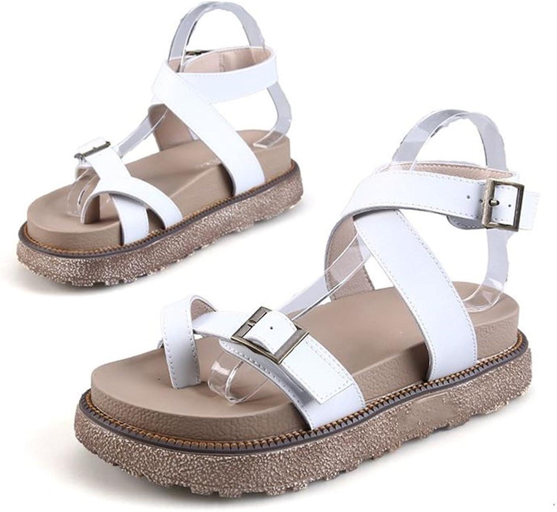 Believed Summer Women Sandals shoes Fashion Peep Toe Flats shoes Woman Female Sandals shoes