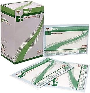 Cura Farma 26072/50 - Estéril Adhesivo Transpirable Vestirse 50-Piezas, 30 cm Largo x 10 cm Ancho 800 g
