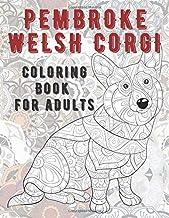 Pembroke Welsh Corgi - Coloring Book for adults