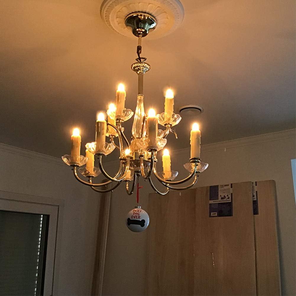 E12 Candelabra Base 2200K Ultra Warm White for Home Decorate 50Lumens Tsunetani-C7 Edison 0.5W Equivalent to 5 Watt Incandescent LED Filament Mini Night Light Bulbs Amber Glass 10Pack