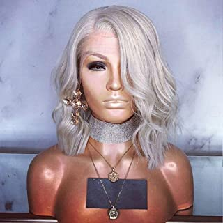 Best grey lace front bob wig Reviews