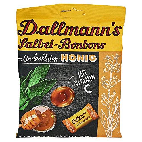 DALLMANN'S Salbei Honig Bonbons 60 Gramm