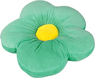 Tianbi Cojín de felpa de 50 cm en forma de flor, cojín acogedor para silla, cojín en forma de flor, cojín para el suelo de la silla de sofá para la oficina en el hogar