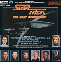 Star Trek - The Next Generation: Music From The Soundtrack, Volume Three Yesterday's Enterprise, Unification, Hollow Pursuit