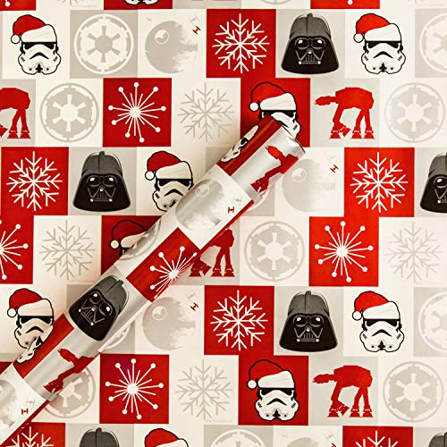 Hallmark Christmas Wrapping Paper - Disney Star Wars...