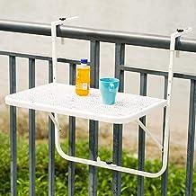 SYLTL Składany stół do montażu na ścianie, stół wiszący, składany, prosty stolik kawowy z żelaza, stół do udawania, stojak...