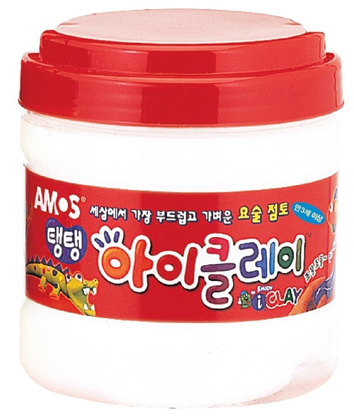 AMOS Clay 400g (14.1oz) Bucket 10 Single Color (White)