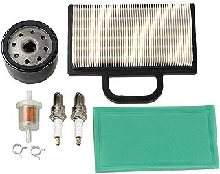 HIPA 698754 273638 Air Filter 691035 Fuel Filter 696854 Oil Filter Spark Plug for Briggs & Stratton Intek Extended Life Se...