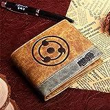 Anime Wallet Naruto Carteras De Juegos Cosplay School Students Money Bag Titular De La Tarjeta Bifold Monedero para