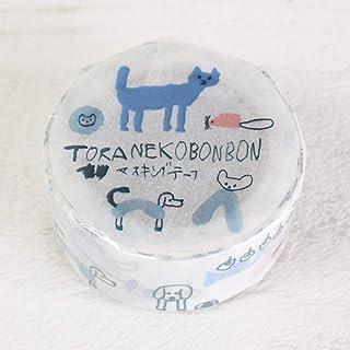 トラネコボンボン × 倉敷意匠計画室 マスキングテープ 記憶のモンプチ 20mm (D柄)
