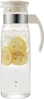 HARIO RPLN-14-OW Slim Refrigerator Pot, 1400ml, Off White