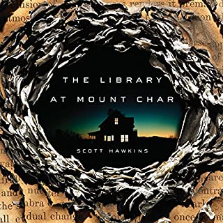 Library at Mount Char audiobook cover art