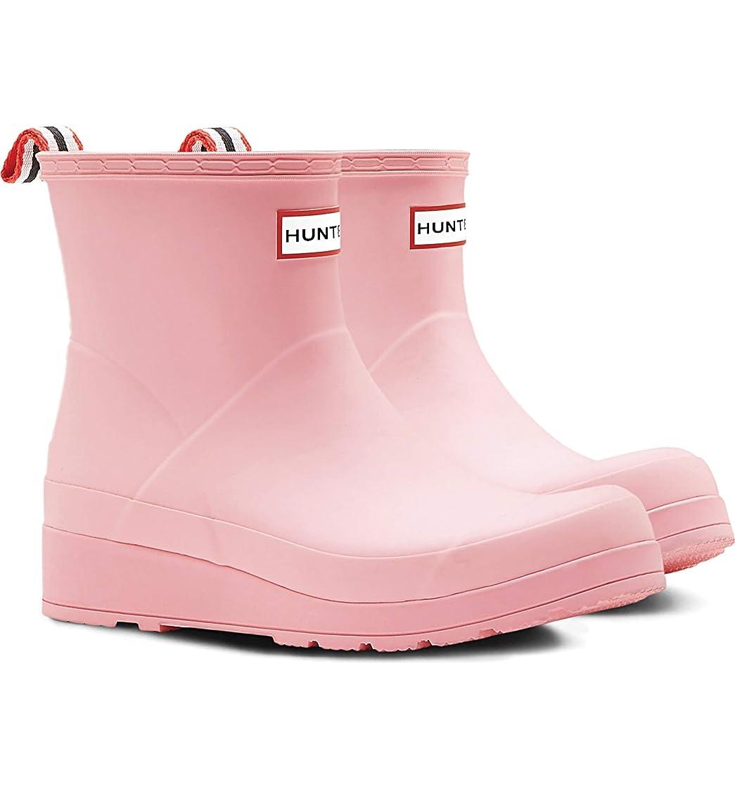 指紋混乱させるステッチ[ハンター] レディース ブーツ&レインブーツ Original Play Waterproof Rain Boo [並行輸入品]