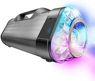 Monster Superstar Ravebox-Portable, Indoor Outdoor EQ Modes, Waterproof, Splash-proof- IPX5 - NFC - With kaleidoscope light 10Hr Battery (Renewed)