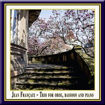 Jean Francaix - Trio for Oboe, Bassoon & Piano / Trio für Oboe, Fagott & Klavier /  Trio pour hautbois, basson et piano