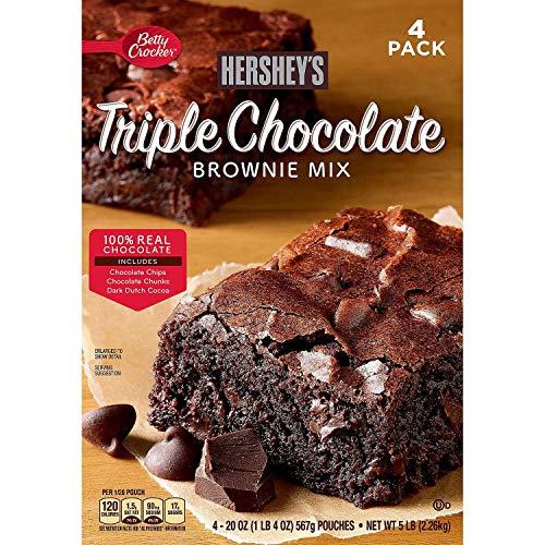 Betty Crocker Ultimate Chocolate Brownie Mix 20 oz ea 4 pk