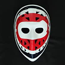 1:1 Custom Vintage Fiberglass Roller Ice Hockey Goalie Mask Helmet Montreal Ken DRYDEN HO08