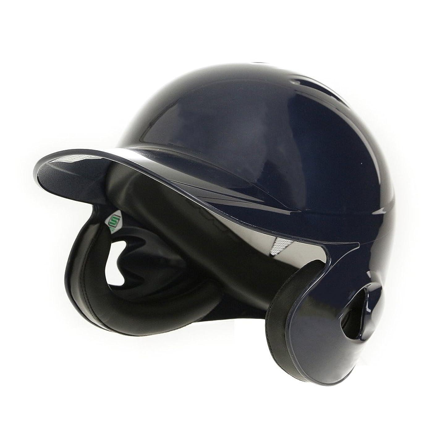石の望ましいもう一度[ミズノ] 軟式用ヘルメット 両耳打者用 2HA388