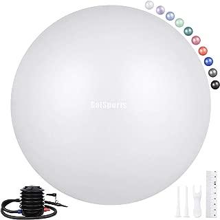 big white balls
