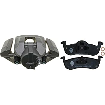 ACDelco 18R2171SV Specialty Rear Disc Brake Caliper Assembly with Performance Fleet//Police Pads Remanufactured Loaded