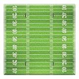 Graphics Wallplates - Football Field - Two Gang Blank Wall Plate Cover