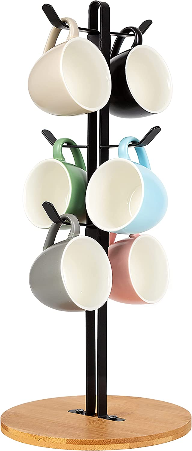 Coffee Mug Holder Mugs Tree Hanger Cup Tea Our shop OFFers the best service Meta Storage Drying Save money