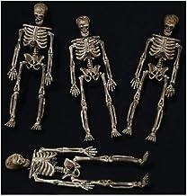 Kit Mini Esqueletos Halloween - 4 Unidades