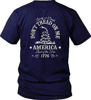 Don't Tread on Me. Liberty or Death. Gildan T-Shirt