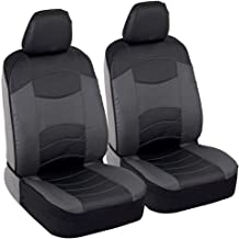 UKB4C Modern Black Front Set Car Seat Covers for Kia Soul All Years