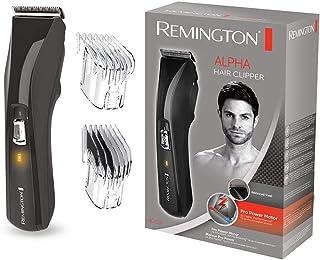 Remington Advanced Steel HC5150 Máquina de Cortar Pelo, Cuchillas de Acero Inoxidable, Recargable, 2 peines, Negro
