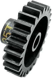 Hot Racing NSG25M1 25t Steel Mod 1 Pinion Gear 5mm