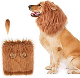 Dog Clothing & Shoes 1 Pc Pet Wigs For Dogs Cats Costume Accessories Funny Cosplay For Large Medium Small Pets braid Wig
