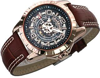 [ジョンハリソン]J.HARRISON 腕時計 メンズ 両面スケルトン 自動巻&手巻 (55)