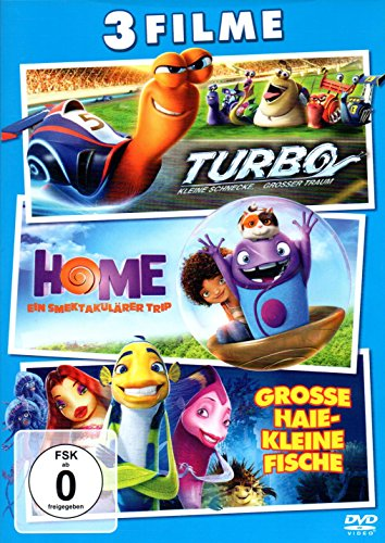 Turbo/Home/Grosse Haie - Kleine Fische 3er DVD Set